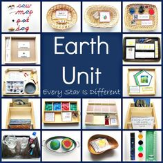 Montessori-inspired learning activities and free printables about the Earth. Geography Activities, Earth Day Activities, Learning Activities, Kids Learning, Stem Activities, Geography Lessons, Weather Activities, Physical Geography, Animal Activities