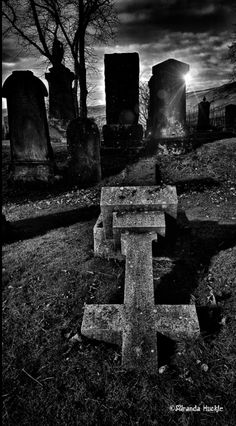 'Lennoxtown Graveyard' #Lennoxtown #graveyard #Cemetery #Gravestone #Scotland Photography by Miranda Huckle.