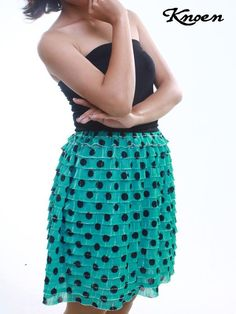 Twitter / KnoenID: POLKA SKIRT with ELASTICATED ...