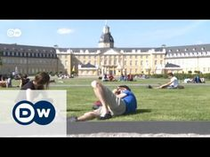 The German city of Karlsruhe celebrates its third centenary. It is a magnet for creative minds as a centre for the art world and media technology. More Euromaxx Art World, Louvre, Germany, City, Building, Youtube, Travel, Viajes, Karlsruhe