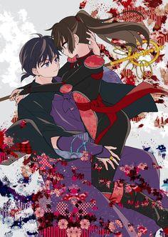 Miroku and Sango from Inuyasha
