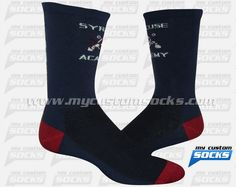 ocks designed by My Custom Socks for Syracuse Academy Of Science in Syracuse, New York. Multisport socks made with Coolmax fabric. #Multisport custom socks - free quote! ////// Calcetas diseñadas por My Custom Socks para Syracuse Academy Of Science in Syracuse, New York. Calcetas para Multideporte hechas con tela Coolmax. #Multideporte calcetas personalizadas - cotización gratis! www.mycustomsocks.com.