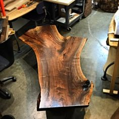 SOLD Amazing and Massive Live Edge Black Walnut Coffee Table image 1 Furniture Plans, Wood Furniture, Coffee Table Dimensions, Walnut Coffee Table, Coffee Tables, Live Edge Wood, Mortise And Tenon, Wood Pieces, Wooden Tables