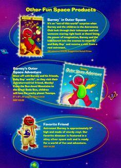Fun Barney Space Products by BestBarneyFan on DeviantArt
