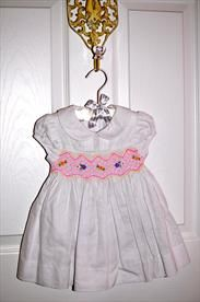 New with tags Macy's 6-9 Month Smocked First Impressions Dress      Price: $13.25