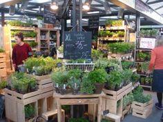 Une découverte à Copenhague : un stand entier de plantes aromatiques, le rêve !