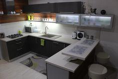 Poradca: p. Bajko - kuchyňa PORTA Corner Desk, Kitchen Cabinets, Grey, Furniture, Design, Home Decor, Pantries, Hearths, Islands