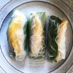 Summer Rice Paper Rolls