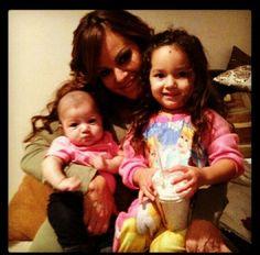 Jenni w her grand daughters