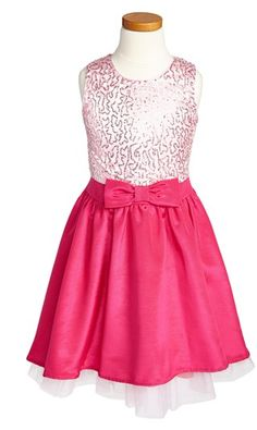 Un Deux Trois Sleeveless Party Dress (Big Girls) Baby Dress Design, Fuchsia, Bat Mitzvah, Teen Fashion, My Girl, Designer Dresses, Bodice, Party Dress, Tulle