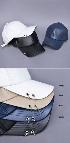 Piercing Leather Baseball Cap-Hat 69 by. Guylook.com Great quality faux  leather df477aec5570