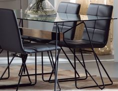 Chaise design noire en métal DUCHESSE Verre Design, Decoration, Dining Chairs, Metal, Furniture, Home Decor, House, Decor, Decoration Home