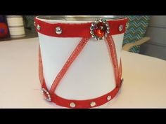 DIY Holiday Drum Centerpiece - Christmas Crafts - YouTube