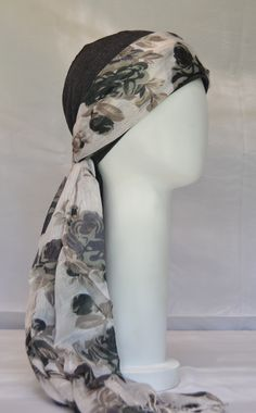 Turbante para quimioterapia/chemo scarf/ 100% algodon/ cómodos/ alegres Scarf, Fashion, Turbans, Caps Hats, Moda, Fashion Styles, Fashion Illustrations, Fashion Models