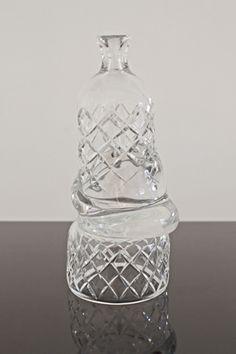 Simon Klenell   Hex Edit (Bottle)   2014, Crystal   Unique   Sweden http://www.galleryfumi.com/Artists/Simon-Klenell/