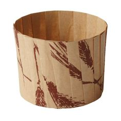 Welcome Home Brands-Pleated Baking Cups-Wheat