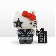 Kiss Special Edition Hello Kitty - Starchild Design USB Flash Drive for sale online Tech Gadgets, Cool Gadgets, Pixar, Chat Hello Kitty, Game Of Thrones, Memory Storage, Beth Moore, 3d Design, Tecnologia