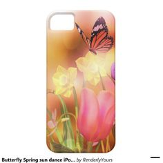Butterfly Spring sun dance iPone case iPhone 5 Cover from RenderlyYours