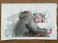 Eudes Correia: 2 тыс изображений найдено в Яндекс.Картинках Watercolor Sketchbook, Abstract Watercolor, Watercolor Illustration, Watercolor Landscape, Figure Painting, Figure Drawing, Painting & Drawing, Painting People, Watercolor Portraits