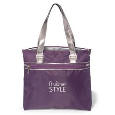 """- This modern and chic tote features shiny nickel metal hardware for added appeal  - Front zippered pocket  - Interior features contrast lining  - 22.5"""" shoulder straps"""
