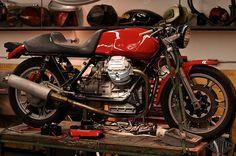 Revival Cycles Custom Build: Revival Shop Moto Guzzi Le Mans I