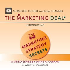 Our video series spilling 13 Marketing Strategy Secrets for you to use, is now live. Subscribe free on YouTube and enjoy! The Marketing, The Secret, Live, Youtube, Youtubers, Youtube Movies