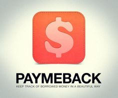 PayMeBack For iPhone App