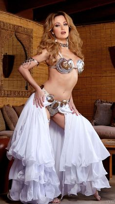 Angela Sommers as warrior princess