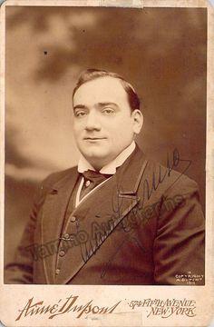 Caruso, Enrico - Signed Cabinet Photo | Tamino Autographs