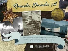 Remembering the attack on Pearl Harbor... the great tragedy of the 20th century and the event that catapulted the US into WWII.