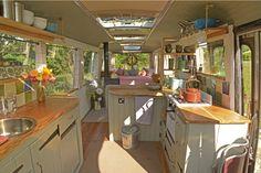 Open bus conversion.  No bath.