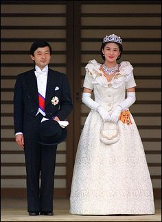Masako Owada became a member of Japan's Imperial Family on June 9, 1993, when she married Emperor Akihito and Empress Michiko's first son, Crown Prince Naruhito.