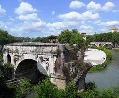 Ponte rotto all' Isola Tiberina, Rome