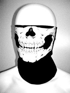 Amazon.com: Stretchable Tubular Skull Face Mask Motorcycle Biker Snowboards: Everything Else