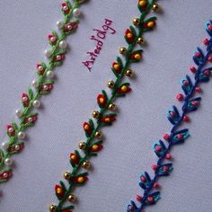 silk ribbon embroidery designs and techniques Hand Embroidery Patterns Flowers, Ribbon Embroidery Tutorial, Basic Embroidery Stitches, Hand Embroidery Videos, Flower Embroidery Designs, Creative Embroidery, Simple Embroidery, Learn Embroidery, Silk Ribbon Embroidery