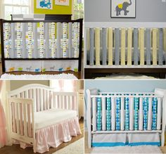 Bumperless Crib Bedding • The Wise Baby
