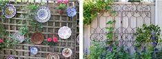 Afbeeldingsresultaat voor schutting decoratie ideeen