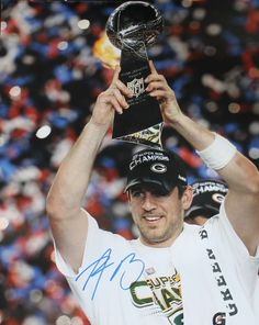 Aaron Rodgers Green Bay Packers Autographed 16x20 Photo