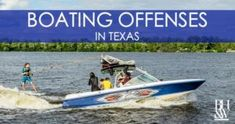 Texans love to have fun on the lake. Here are some of the more common criminal offenses that are committed on a boat in Texas. Criminal Law, Criminal Defense, Texans, Fort Worth, Boating, Prison, Have Fun, Boats, Rowing