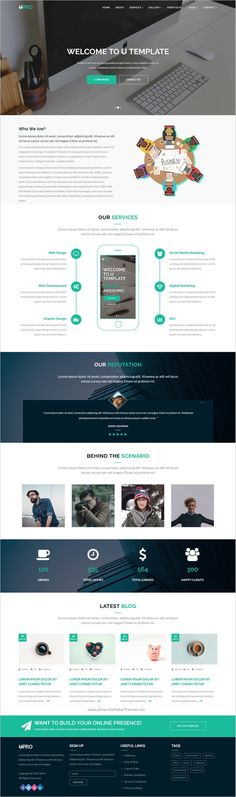 uPro is a elegant and modern design #bootstrap #HTML5 template for #webdev multipurpose #business, corporate or agencies website download now➩ https://themeforest.net/item/upro-responsive-multipurpose-template/18814544?ref=Datasata