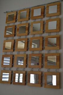 Mirror wall diy spectacular mirror design ideas to beautify your decor projects 3 diy wall mirror . Diy Wand, Wood Mirror, Diy Mirror, Mirror Ideas, Mur Diy, Spiegel Design, Handmade Mirrors, Deco Originale, Diy Home Decor