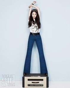 Wonder Girls So-hee for Vogue Girl Korea