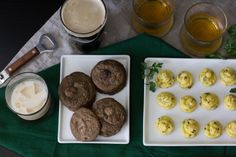 St. Patrick's Day recipes: Guinness Double Chocolate Cookies and Potato Bites