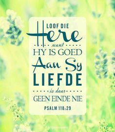 Prys die Here. Sweet Love Quotes, Love Is Sweet, Psalm 118, Psalms, Bible Quotes, Bible Verses, Afrikaanse Quotes, Praise The Lords, Godly Woman