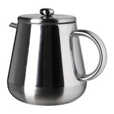 IKEA - ANRIK, Coffee/tea maker, Made from double-walled stainless steel, which keeps drinks hot for longer while staying cool on the outside.