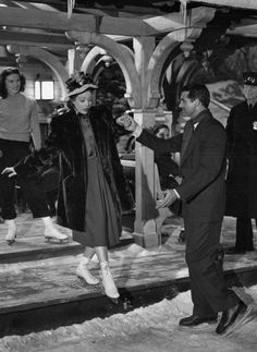 Loretta Young and Cary Grant in The Bishop's Wife, 1947.