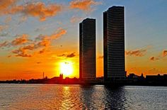 Pôr do Sol em Recife. Pernambuco - Brasil
