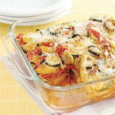 Vegetable Polenta Lasagna | MyRecipes.com
