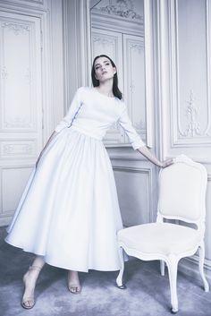 Delphine Manivet - Wedding dress designer Paris : Ivanic dress - Prefall Collection 2016 - Delphine Manivet