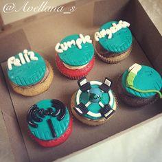 Cupcakes especialista en redes, Wifi, Cisco, conector de red